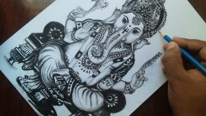 Lord Ganesha by babasart