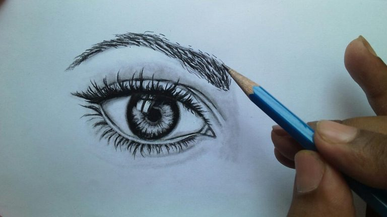 eye drawing technique