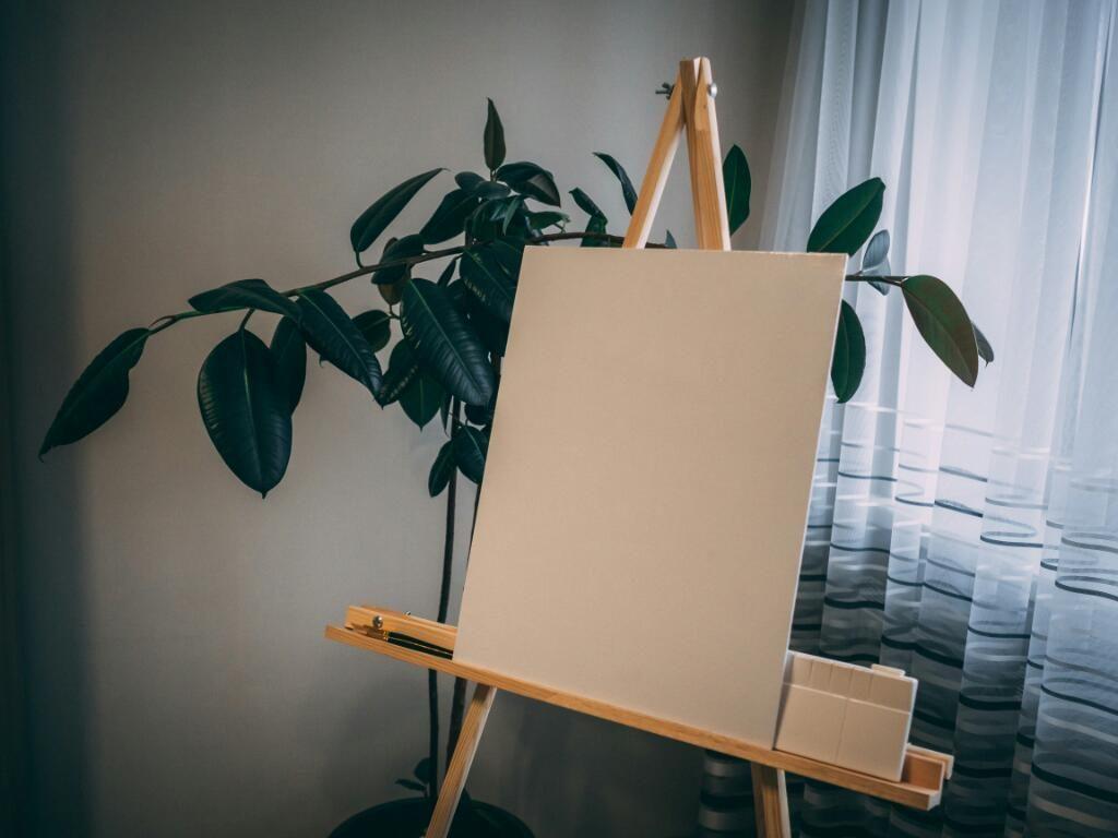 Canvas drawing materials