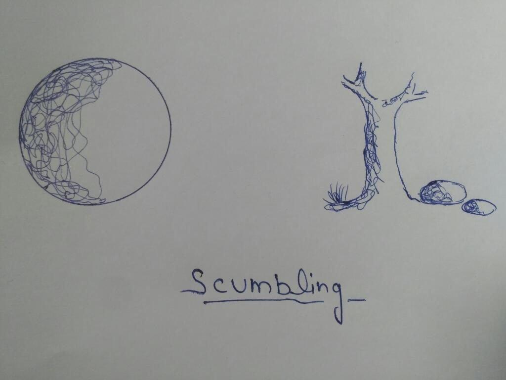 scumbling
