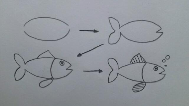 simple drawing for kids